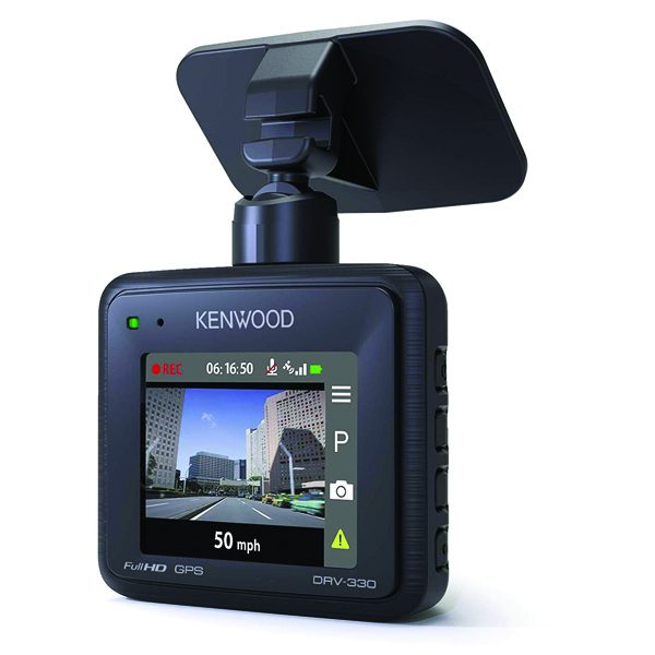 Kenwood DRV330 Compact, Full HD, GPS integrated, stand-alone driver recorder